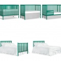 Emerald Synergy 5-in-1 Convertible Crib Collage
