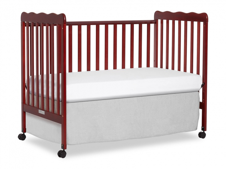 Cherry Classic 3 in 1 Convertible Crib Day Bed Silo