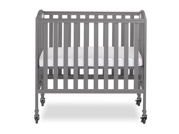 Steel Grey 3 in 1 Folding Portable Crib 02 Silo
