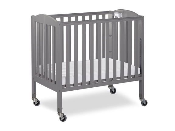 Steel Grey 3 in 1 Folding Portable Crib 04 Silo