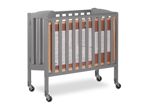 Steel Grey 3 in 1 Folding Portable Crib 09 Silo