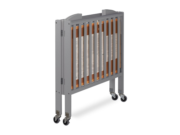 Steel Grey 3 in 1 Folding Portable Crib 10 Silo